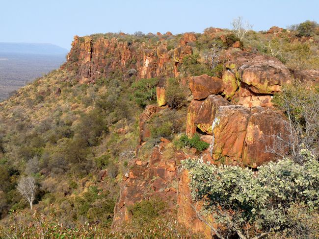 Waterberg Plateau Park in Namibia