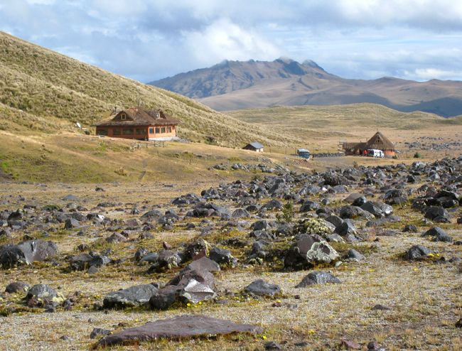 Tambopaxi Inn at the foot of Cotopaxi National park