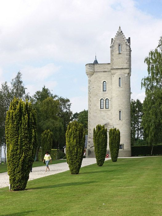 ulster tower, memorial of the 36th division near thiepval