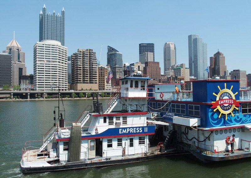 Pittsburgh - Gateway Clipper Fleet sur l'Allegheny river