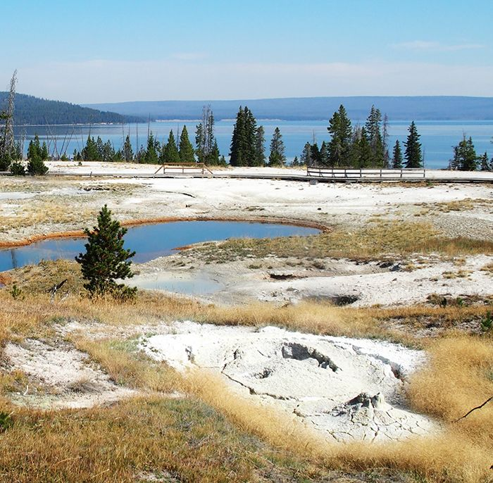 West Thumb lac de Yellowstone