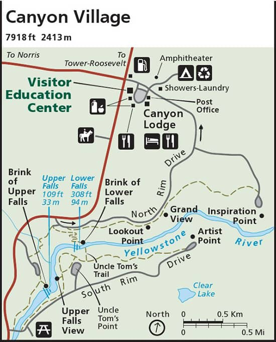 Yellowstone Park Map and guides to prepare your visit - Travel Blog on