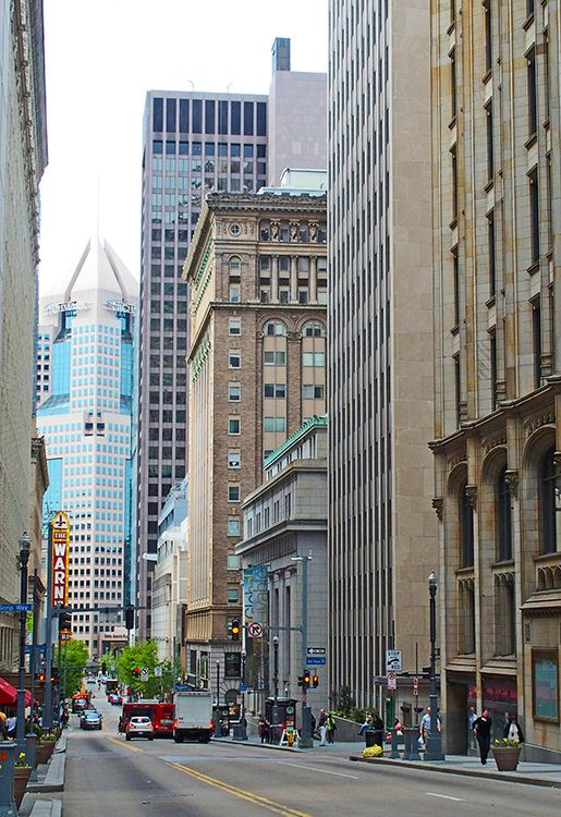 visiter Downtown pittsburgh
