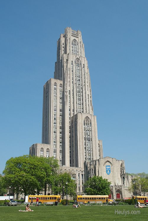Pittsburgh cathedral of learning university of oakland