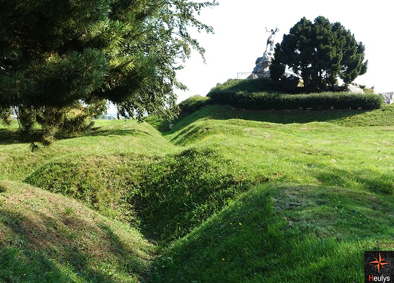 beaumont hamel france tranchees