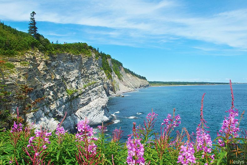 gaspesie pac national forillon quebec canada