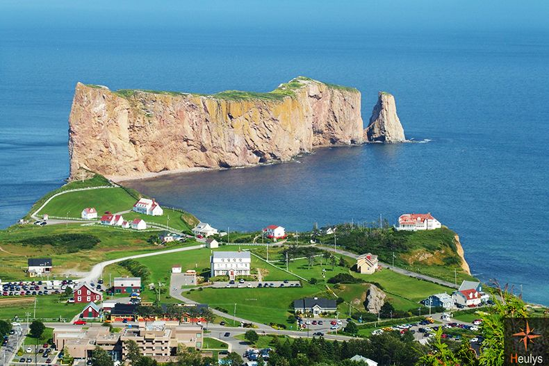 quebec gaspesie rocher perce canada