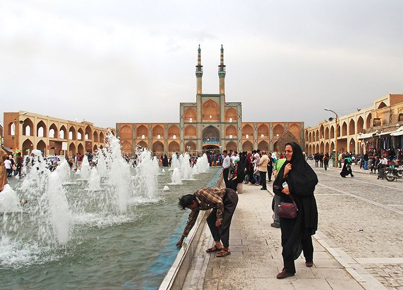 complexe Mir Chakhmagh yazd
