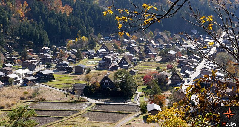 japan shirakawago observatory