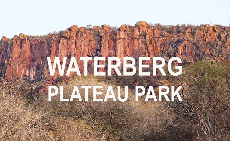 namibia hiking in waterberg plateau park