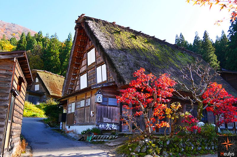 ogomachi shirakawago houses japan